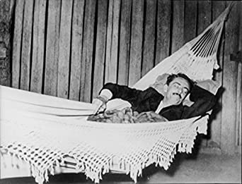 Vintage photo of Jaino Quadros sleeping. at Amazon's