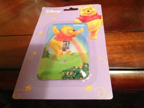 Disney Winnie the Pooh Switchplate Cover - Baby Nursery Kids Bedroom Light Switch Wall Decor - 1