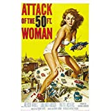 Seven Rays Seven Rays Attack Of The 50ft Woman (12 X 18) Small Poster