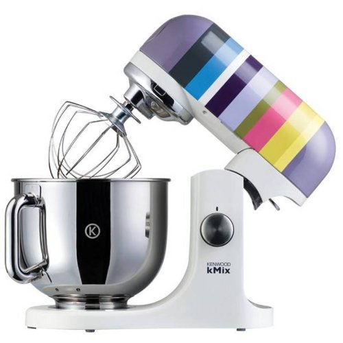 Kenwood kMix KMX80 Stand Mixer, Barcelona Stripes