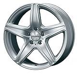 タルガ (TARGA / TAS) エージーエー(AGA) 18インチ アルミホイール AGA Burg for Mercedes-benz ■ 8.0J PCD:112 5H +39 シルバー 1本 -