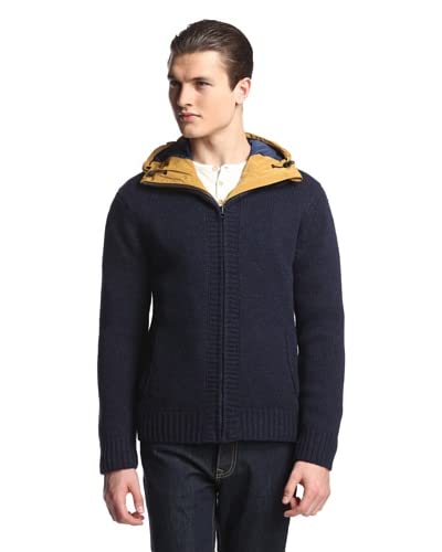 Scotch & Soda Men's 2-in-1 Cardigan with Jacket