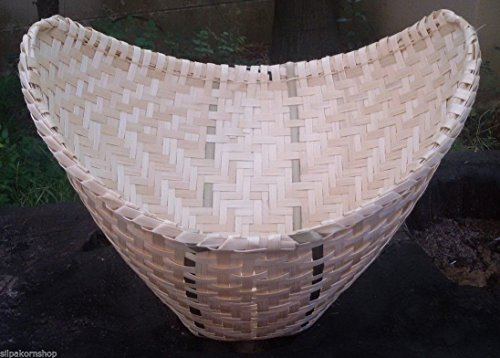 THAI LAO STICKY RICE STEAMER HANDMADE BAMBOO BASKET COOKWARE KITCHEN TOOL (Mud Pot Cookware compare prices)