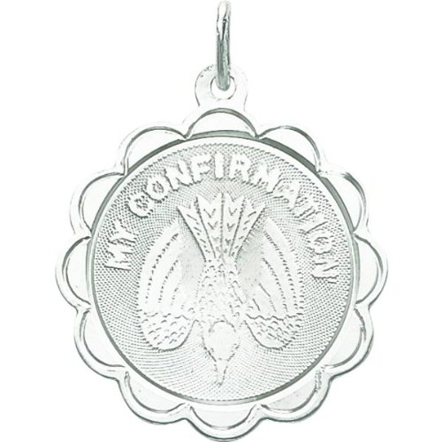 Sterling Silver Confirmation Charm