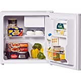 LEC R50052W Free Standing Table Top Fridge (with icebox) in White 'A+' rating