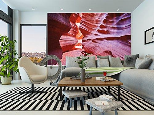 antelope canyon papier peint de photo canyon tableau mural xxl poster antelope desert d co mural. Black Bedroom Furniture Sets. Home Design Ideas