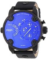 Diesel - DZ7257 - Montre Homme - Quartz Chronographe - Bracelet Cuir Noir
