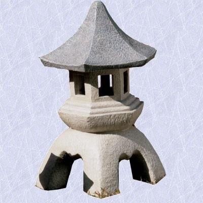 Pagoda Lantern statue home asian oriental sculpture LG (The Digital Angel)