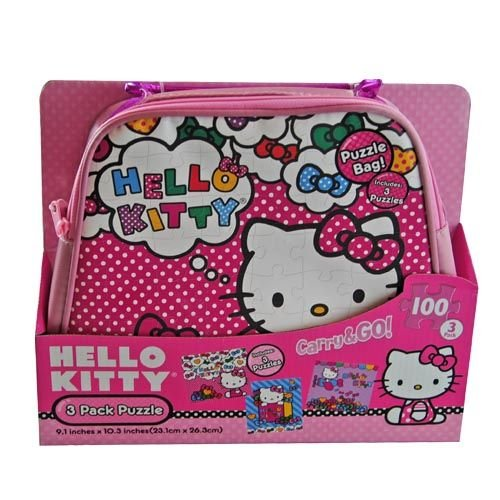 Hello Kitty-3 Pack Puzzle Bag - 1
