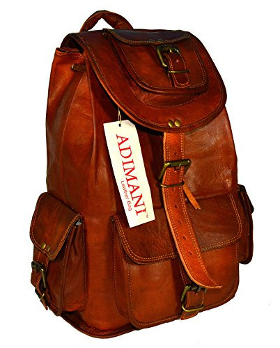 ADIMANI-Handmade-Vintage-Goat-Leather-BackpackRucksack-Bag