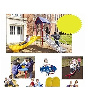 Child Shapers™ Playground Package A (inc. Child Turf™)