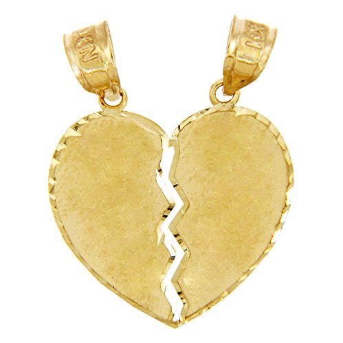 10k-yellow-gold-satin-finish-breakable-heart-charm-pendant-1