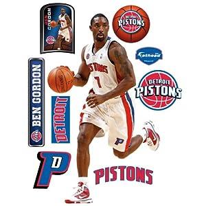 NBA Detroit Pistons Ben Gordon Wall Graphic by Fathead