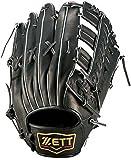 ZETT(ゼット) 軟式グラブ プロステイタ 外野手用 右投用 ブラック BRGB30517