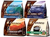 Senseo 3-flavor Coffee Variety Pack + Decaf (Pack of 4)