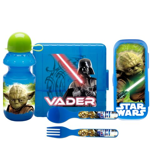 Zak Designs 5-Piece Star Wars On-The-Go Serveware Set
