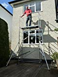 5m DIY Aluminium Scaffold Tower / Towers with 4 outriggers