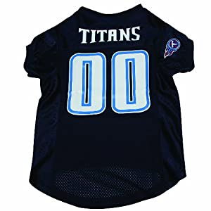 Hunter MFG Tennessee Titans Dog Jersey, Large by Hunter