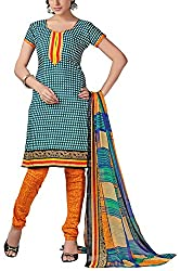 Fabiola Trendz Women's Cotton Unstitched Dress Material (Multi-Coloured )