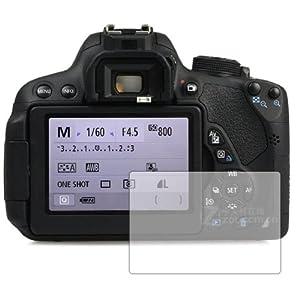 6 x Membrane Films de protection d'écran Canon EOS 700D - Ultra clair, Emballage et accessoires