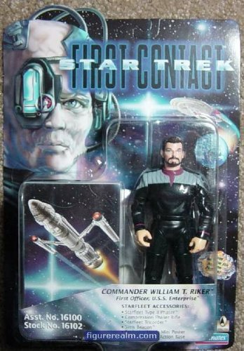 Star Trek-First Contact-Commander William T. Riker-First Officer, U.S.S. Enterprise