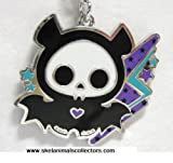 Skelanimals - Diego the Bat Lightning Bolts Necklace