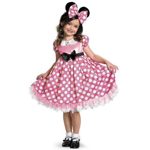 Disney Mickey MouseClubhouse Minnie Mouse Glow in the Dark Costume - Toddler