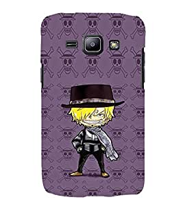 EPICCASE Hatted Villain character Mobile Back Case Cover For Samsung Galaxy J2 (Designer Case)