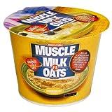 Muscle Milk n' Oats, Banana Walnut, 2.7-Ounce Cups (Pack of 6)