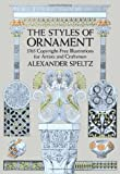 The Styles of Ornament (Dover Pictorial Archive) (0486205576) by Alexander Speltz