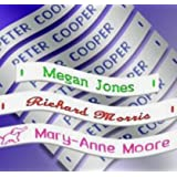 72 Woven Sew in School Name Tapes Name Tags Labels, SEND MESSAGE WITH DETAILS AFTER ORDERING