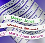 from Woven Labels UK 72 Woven Sew in School Name Tapes Name Tags Labels, SEND MESSAGE WITH DETAILS AFTER ORDERING