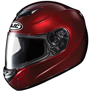 HJC Helmets CS-R2 Helmet (Wine, Medium)