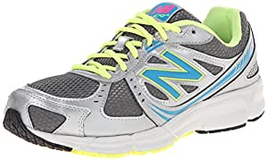 New Balance Women's W470GY4 Running Shoe,Grey/Yellow,8 B US