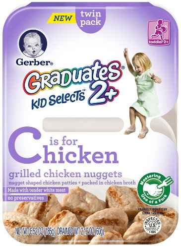 Gerber Graduates Kid Selects Chicken Nuggets, 6.52 Ounce