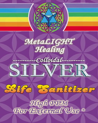 Colloidal Silver Life Sanitizer 2.3 oz