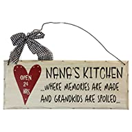 1 X Wooden Wall Plaque. 'Nana's Kitch…