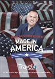 Travel Channel John Ratzenberger's Made In America DVD Includes U.S. Mint, Carousel Magic, Fleer Trading Cards, Purity Dairies, Brooks Brothers