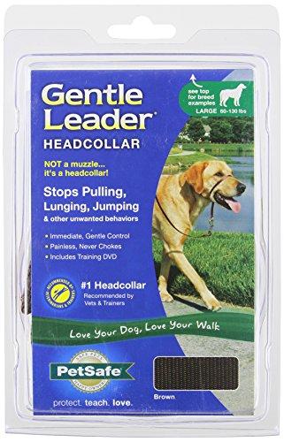 PetSafe Gentle Leader Headcollar, Large, Brown