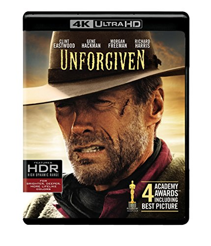 4K Blu-ray : Unforgiven (With Blu-Ray, 4K Mastering, Ultraviolet Digital Copy, Amaray Case, 2 Disc)