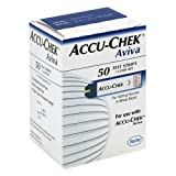 ACCU-CHEK Aviva Plus Test Strips, 50 Count ~ Accu Chek