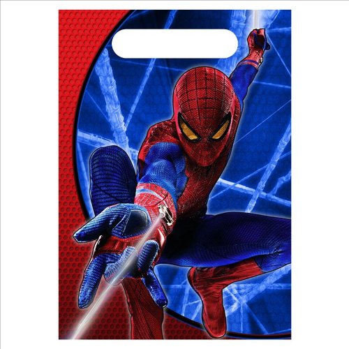 Hallmark - The Amazing Spider-Man 3D Treat Bags - Standard
