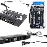 DURAGADGET Adaptateur cassette pour autoradio compatible MP3, iPhone, Mobiles et Tablettes - Garantie 2 ans - Best Reviews Guide