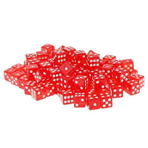 100-x-16-mm-durchscheinend-sechsseitige-wurfel-fleck-rpg-spiele-rot