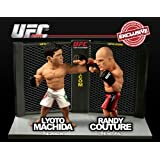 Round 5 UFC Versus Series 2 LIMITED EDITION Action Figure 2Pack Lyoto Machida Vs. Randy Couture UFC 129
