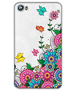 AT Shopping 3d Micromax Canvas Fire 4 A107Back Cover Designer Hard Case Printed Mobile Cover