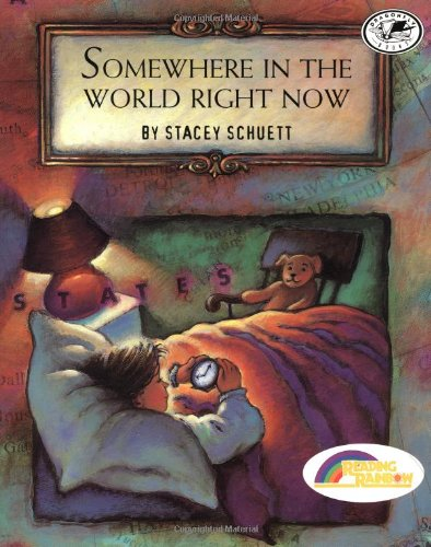 Somewhere in the World Right Now (Reading Rainbow Book) (World Map Night compare prices)
