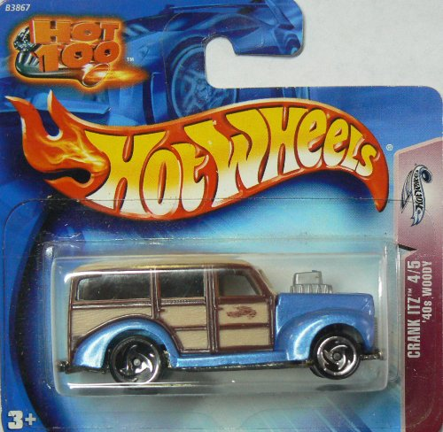 Hot Wheels Hot 100 2004 Crank Itz '40s Woody on Short Card #146 4/5 - 1