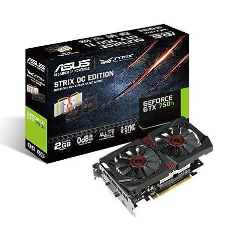 Asus STRIX-GTX750TI-OC-2GD5 Carte Graphique Nvidia 2 Go GDDR5 DirectCU II