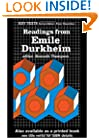 Readings from Emile Durkheim (Key Texts)